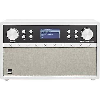 Dual Radiostation IR 105S Internet desk radio DAB+, FM AUX, Bluetooth, Internet radio Spotify Silver