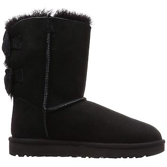 Ugg Australia Womens Meilani Faux Fur Closed Toe Mid-Calf Cold Weather Boots
