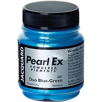 Jacquard Pearl Ex Powdered Pigment 14g-Duo Blue-Green