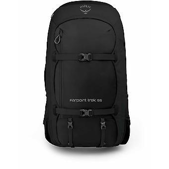 Osprey Farpoint Trek 55 Backpack O/S - Black