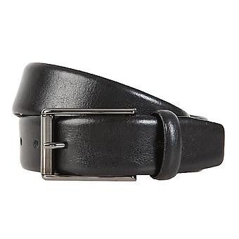 Strellson belts men's belts leather belt black 1304
