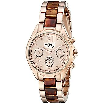 Burgi Clock Woman Ref. BUR130RGBR