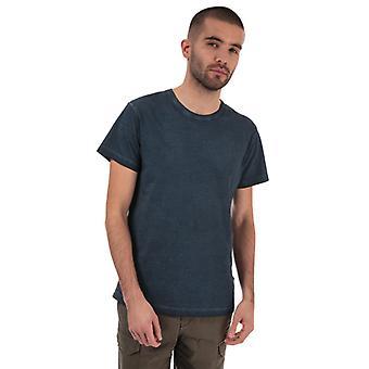 Męska koszulka z dye z drewna