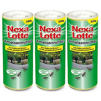 Sparset: 3 x NEXA LOTTE® formiche, 300 g