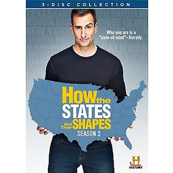How the States Got Their Shapes: Season 2 [DVD] USA import