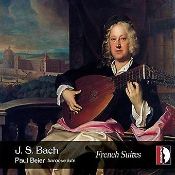 Bach*J.S. / Beier - French Suites / Paul Beier Baroque Lute [CD] USA import