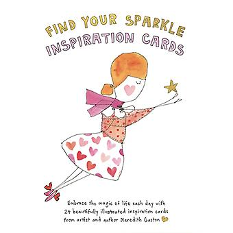 Find Your Sparkle Inspiration Cards  Embrace the magic of life each day with 24 beautifully illustrated cards by Meredith Gaston