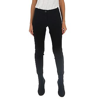 Semi-couture S9an54y690 Women's Black Wool Pants