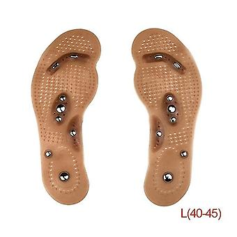Loss Weight - Shoes Mat Pad Brown Insole Magnetic Therapy Slimming Health Care Mat