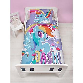 My Little Pony Crush Junior Panel Duvet Set