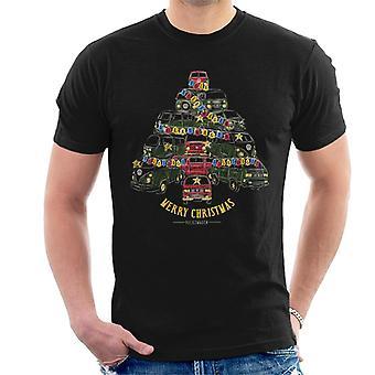 Volkswagen Camper Christmas Tree Men's T-Shirt