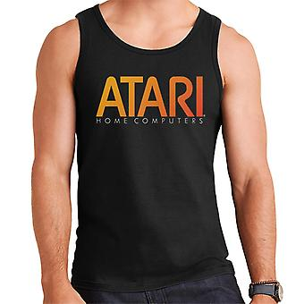 Atari Home Computer Orange Logo Men's Weste