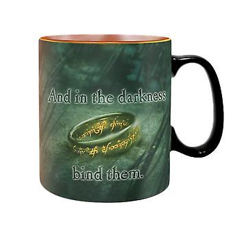 Lord of the Rings Sauron Heat Change Mug