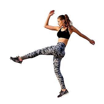 Jerf Womens Kars Camo All Over Print Active Leggings