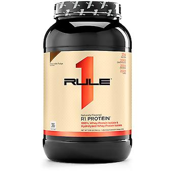 Rule1 Fudge Chocolate Natural Flavored Protein 2.5 lbs