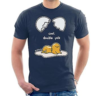Gudetama Cool Double Yolk Men's T-Shirt