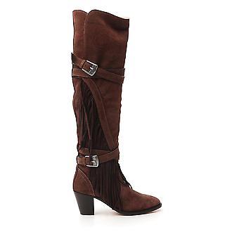 Etro 1371636990600 Damen's Braune Wildleder Stiefel