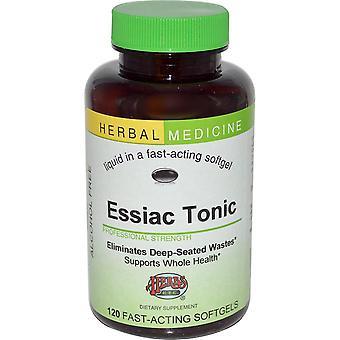 Herbs Etc., Essiac Tonic, Alcohol Free, 120 Fast-Acting Softgels