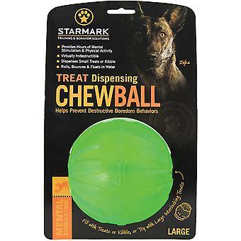 Starmark Treat Dispensing Chew Ball - Large
