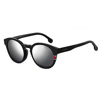Sunglasses Unisex 184/S 003/T4 matt black with mirror disc