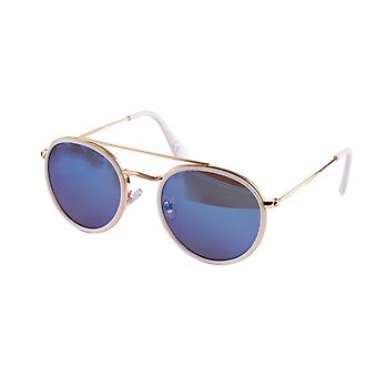 Sunglasses Unisex Cat.3 Blue Lens (19-092A)
