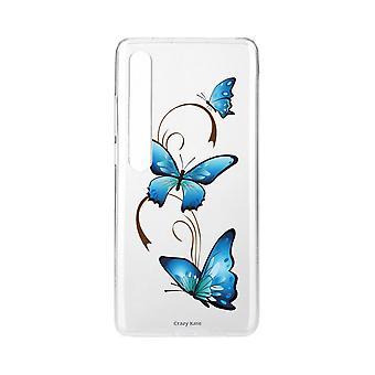 Schale für Xiaomi Mi 10 Pro Weich Schmetterling Auf Arabesque