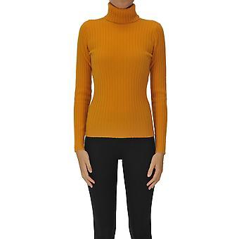 Allude Ezgl569001 Women's Orange Cashmere Sweater