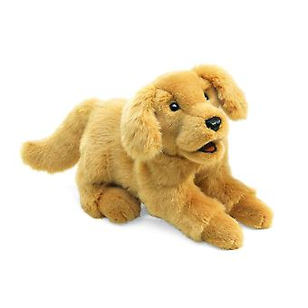 Hand Puppet - Folkmanis - Golden Retriever Puppy Soft Doll Plush 2862