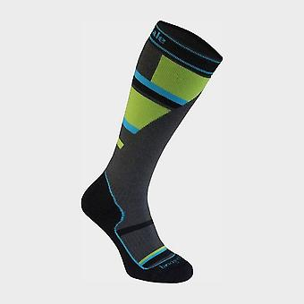 Bridgedale Kids' Ski Mountain Merino Endurance Ov Sock Grey/Green