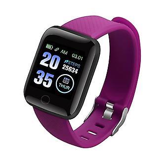 Bluetooth Blutdruck Sport wasserdicht smart Uhr Männer Frauen Kinder mit Silikonband