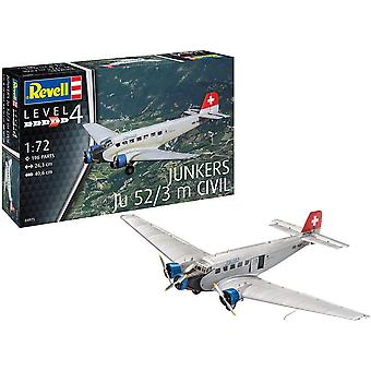 Revell 4975 Junkers Ju52/3M Civil Model Kit