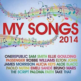 Artistes divers - My Songs 2014 CD