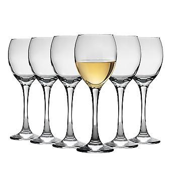 Argon Tacâmuri Pahare de vin alb - Cutie cadou de 6 pahare - 245ml (8.6oz)