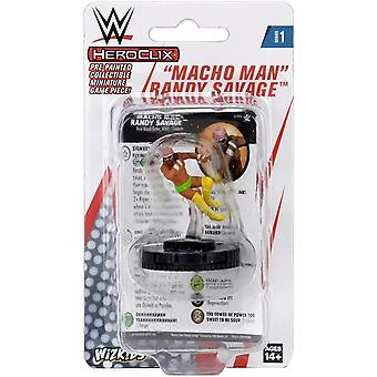UNIDAD WWE HeroClix Macho Man Randy Savage Expansion Pack W1