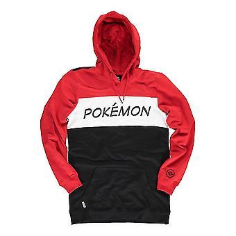Pokemon Colour Block Hoodie Male Large Multi-colour (HD052320POK-L)