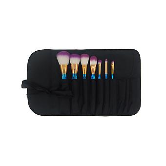 7 Pcs Set Of Cosmetic Brush For Professional And Beginners