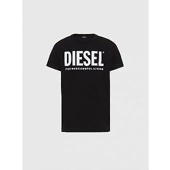 Diesel T-diego Logo Black T-shirt