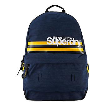 Superdry Montauk Stripe Montana Backpack - Blue