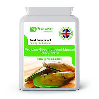 Green Lipped Mussel 500mg 90 Capsules | Made In UK