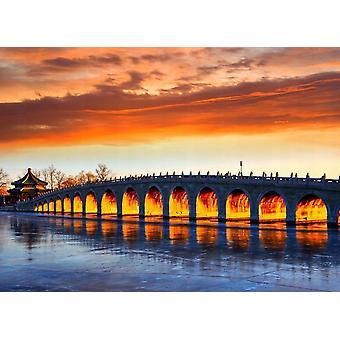 Fondo de pantalla Mural Beijing Summer Palace Bridge