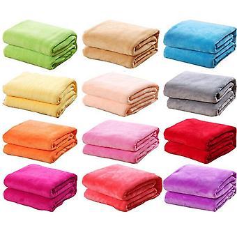 Super miękki zmywalny koc łóżko rzucać
