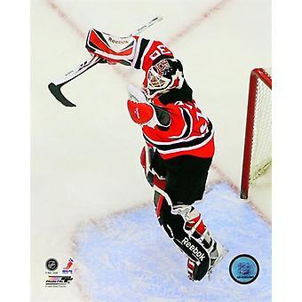 Martin Brodeur segerrika målvakten i NHL: S historia med 552 vinner Photo Print