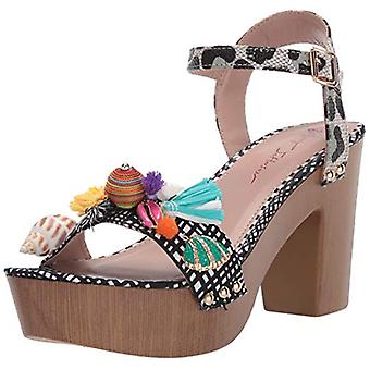 Betsey Johnson Women's Jillie Heeled Sandal