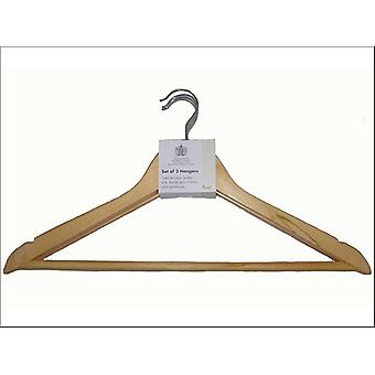 Russel Notched Hangers Eucalyptus x 3 WA0003