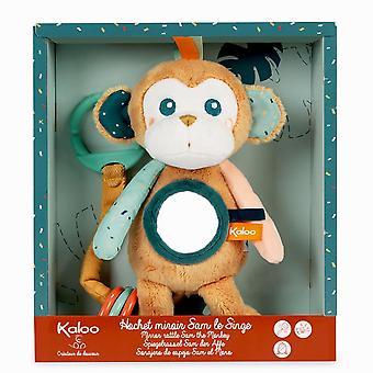 Kaloo Jungle Sam The Monkey Mirror Rattle