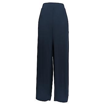 G.I.L.I. consiguió que les encanta Mujeres's Pantalones Jetsetter Side Slit Azul A353513