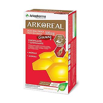 Arkoreal Royal Jelly + Ginseng 20 ampoules