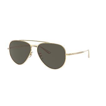 Oliver Peoples Casse OV1277ST 5292/P1 Gold/Polarised G-15 Sunglasses