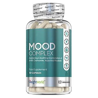 Mood Complex - Natural Food Supplement With 5HTP