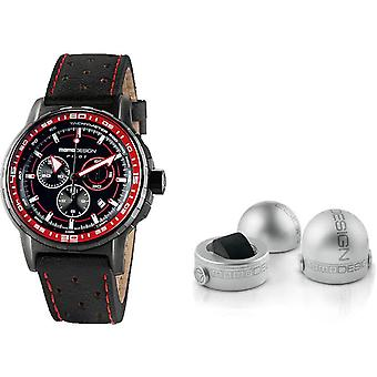 Momo design watch pilot pro chrono quarzo md2164bk-42